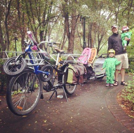 Transporting Kids by Bike: A journey