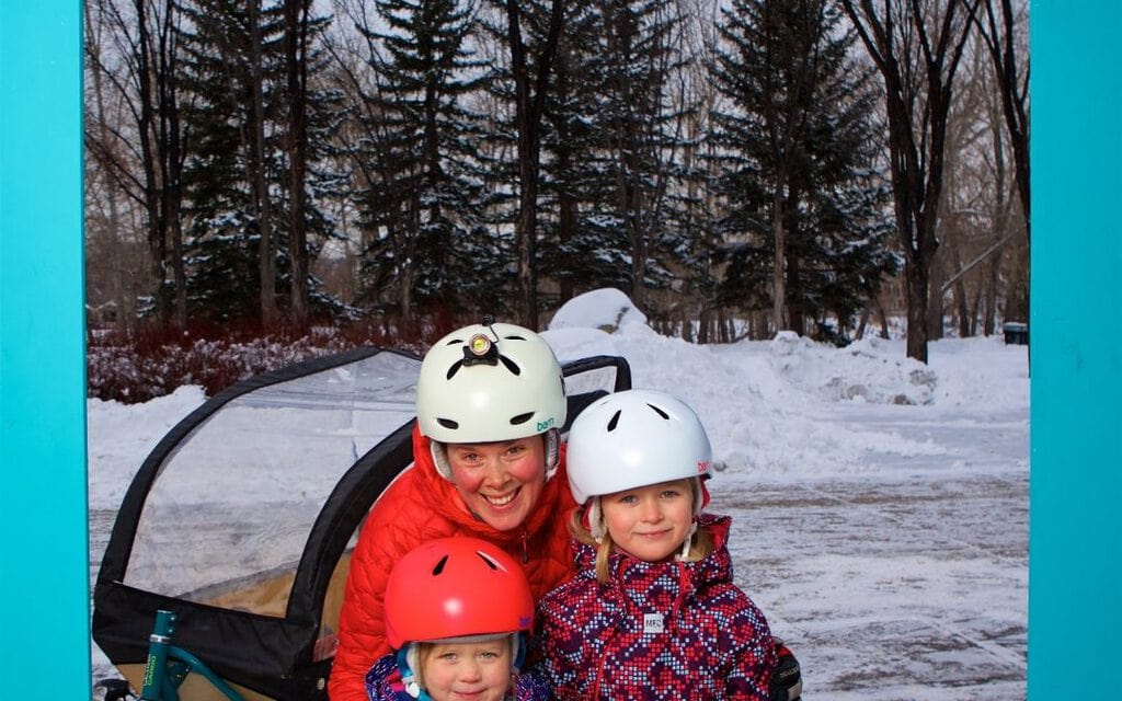 Winter Ride: Keeping Kids Warm