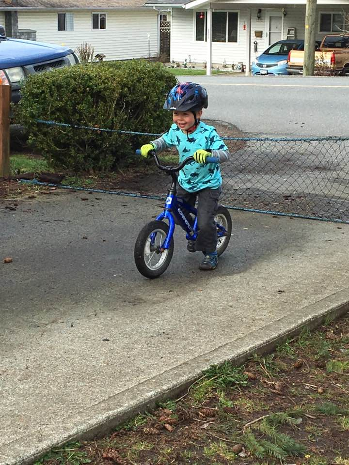homemade balance bike