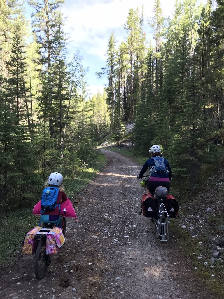 family bikepacking