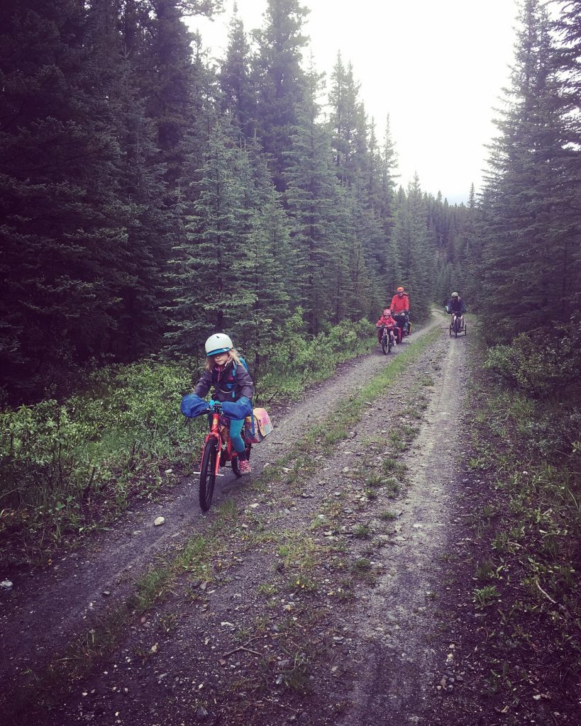 family bikepacking