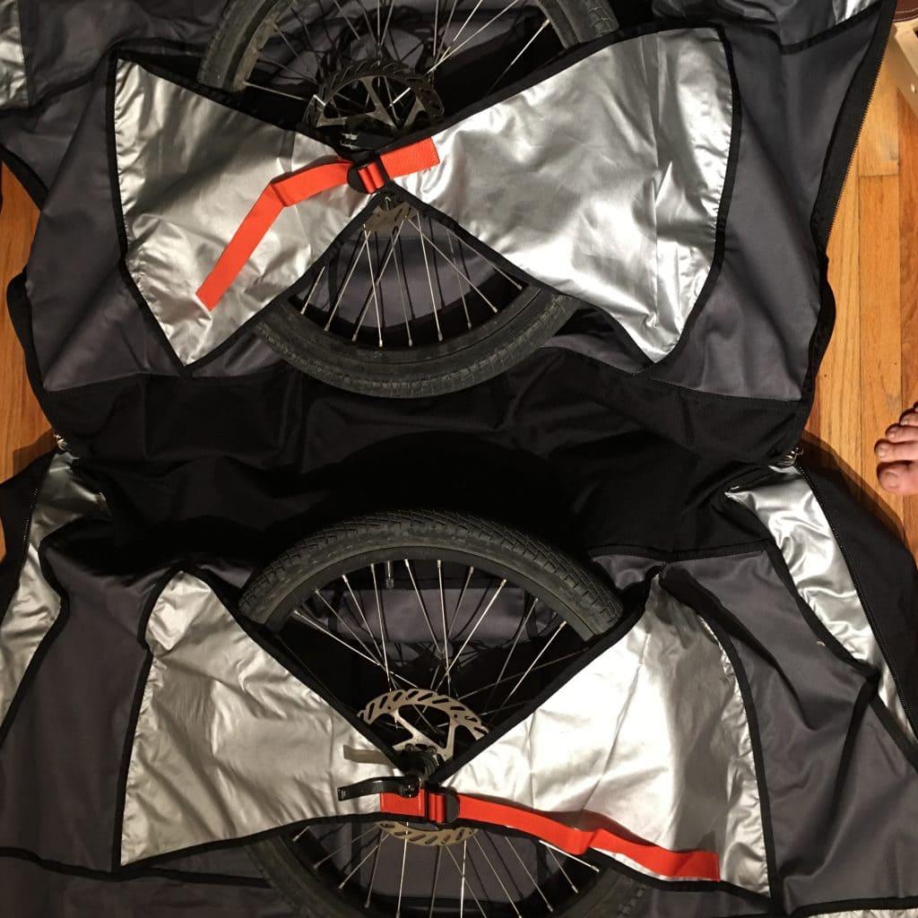 folding bike bag